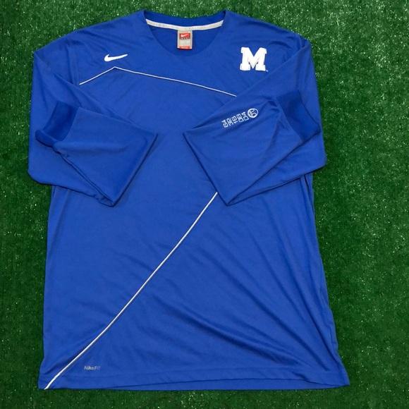 new product cc88e 4a268 Nike Drifit Memphis Tigers NCAA basketball shirt
